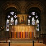The altar at Romsey Abbey