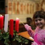 Lighting the Second Advent Candle