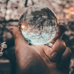 Searching magnifying sphere