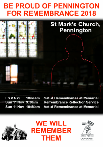 Act of Remembrance @ St Mark's Church | England | United Kingdom