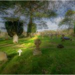 A view over the churchyard (by Steve Walder)