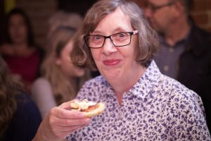 Teresa enjoys a scone with jam and cream. But, is it jam then cream (as Teresa endorses here) - or cream first and **then** the jam?